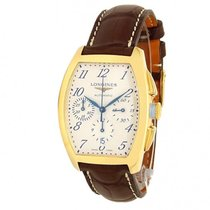 Longines Evidenza Yellow gold 34mm Silver United States of America, New York, New York