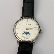 Frederique Constant Manufacture Slimline Moonphase Steel 42mm Blue United States of America, California, Encino