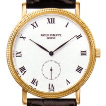 Patek Philippe Calatrava 3919J-001 Very good Yellow gold 33mm Manual winding