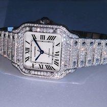 Cartier Santos (submodel) Steel 35mm Silver Roman numerals United States of America, California, 91789
