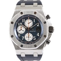 Audemars Piguet pre-owned Automatic 42mm Blue Sapphire crystal 10 ATM