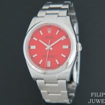 Rolex Oyster Perpetual Staal 36mm Rood Nederland, Maastricht