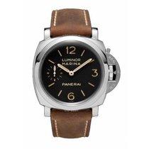 Panerai Luminor Marina 1950 3 Days neu 2021 Handaufzug Uhr mit Original-Box und Original-Papieren PAM00422