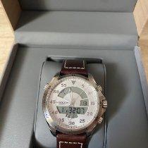 Hamilton Khaki Flight Timer Steel 40mm Silver Arabic numerals