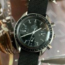 Omega Speedmaster Reduced Acier 39mm Noir Sans chiffres France