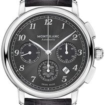 Montblanc Steel 42mm Automatic 118515 new