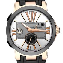 Ulysse Nardin Yellow gold Automatic 43mm Executive Dual Time