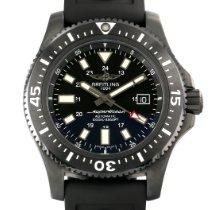 Breitling Superocean 44 occasion 44mm Noir Date Caoutchouc