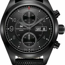 Hamilton Khaki Field Day Date new Automatic Watch with original box and original papers H71626735