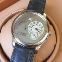 F.P.Journe Platinum Automatic Grey Arabic numerals 40mm pre-owned Octa