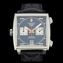 TAG Heuer Monaco Calibre 11 Staal 40mm