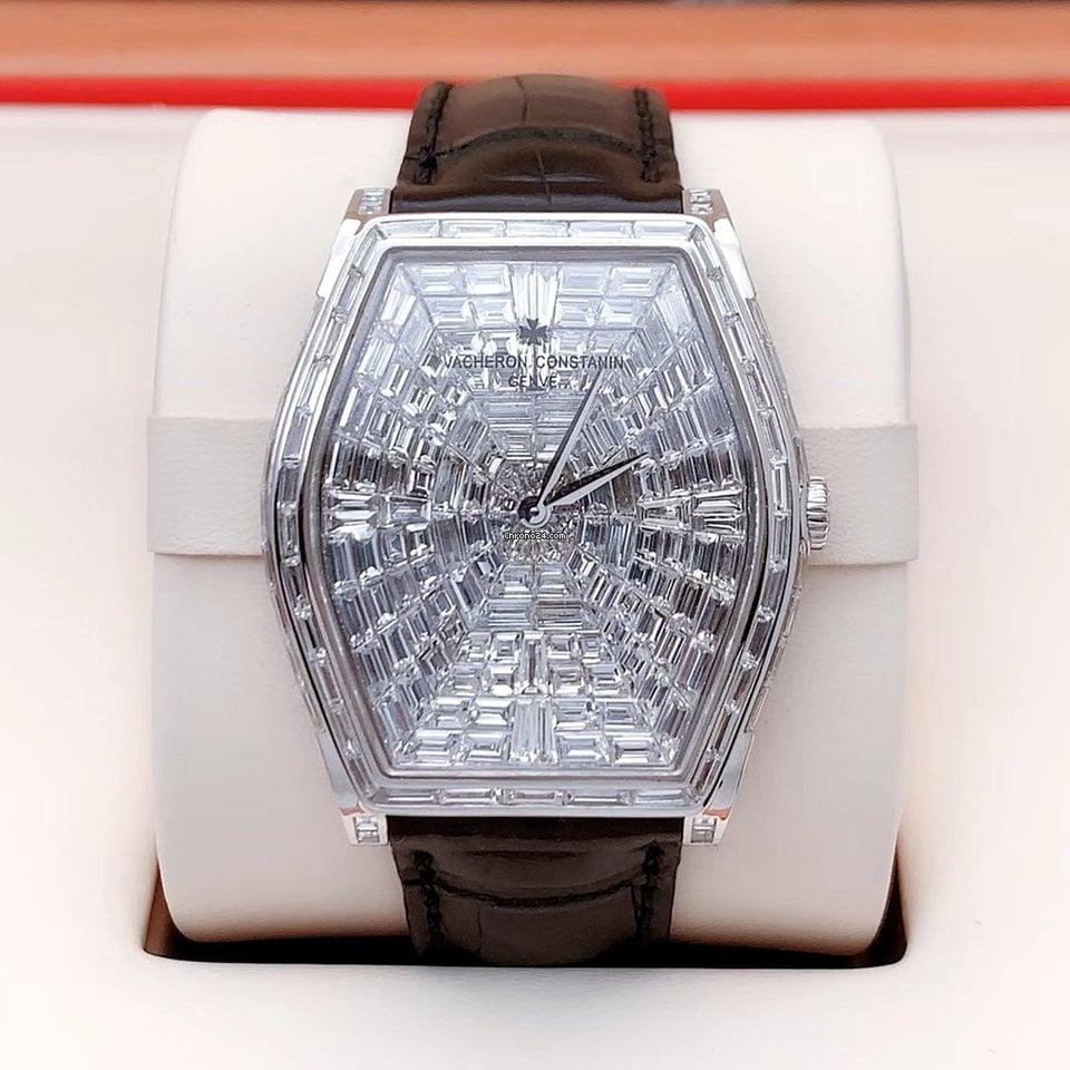 Vacheron Constantin Malte Vacheron Constantin Malte  82230/000G-9962 Custom upgrade Full square Diamond pre-owned