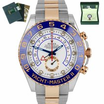 Rolex Yacht-Master II Gold/Steel 44mm White United States of America, New York, Smithtown
