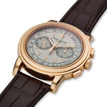Patek Philippe Chronograph Rose gold 42mm Silver United States of America, Massachusetts, Chatham