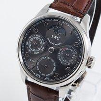IWC Portuguese Perpetual Calendar nieuw 2013 Automatisch Horloge met originele doos en originele papieren IW502307