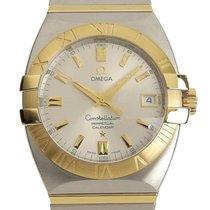 Omega Constellation Ouro/Aço 35mm Prata