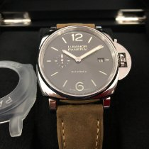 Panerai Luminor Due Acier 42mm Gris Arabes
