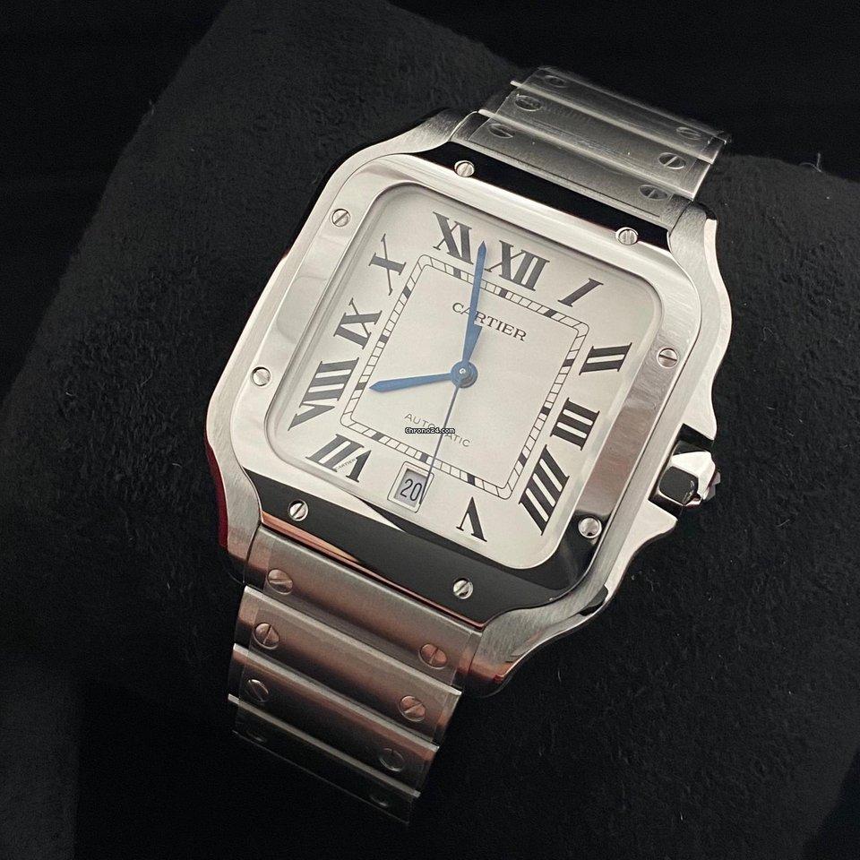 Cartier Santos (submodel) WSSA0018 2020 новые