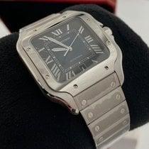 Cartier Santos (submodel) Steel 39.8mm Blue Roman numerals United States of America, Florida, Miami