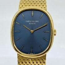 Patek Philippe Ellipse d'Or Gelbgold 27mm Blau Keine Ziffern