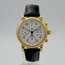 Montblanc Steel 38mm Automatic 7016 pre-owned United States of America, California, Santa Monica