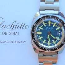 GUB Glashütte new Automatic Only Original Parts 38mm Steel Plexiglass