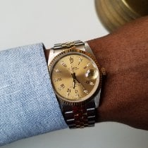 Tudor Prince Oysterdate Gold/Steel 34mm Gold Roman numerals United States of America, New York, NEW YORK