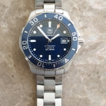 TAG Heuer pre-owned Automatic 41mm Blue Sapphire crystal 30 ATM