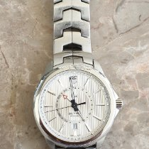 TAG Heuer pre-owned Automatic 42mm Silver Sapphire crystal 10 ATM
