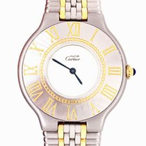 Cartier 21 Must de Cartier Steel 28mm Silver Roman numerals United Kingdom, London