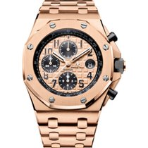 Audemars Piguet 26470OR.OO.1000OR.01 Or rose Royal Oak Offshore Chronograph 42mm nouveau