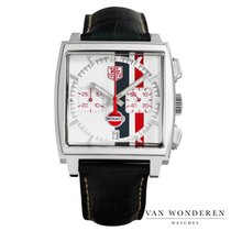 TAG Heuer Monaco Staal 38mm Wit Nederland, Purmerend