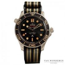 Omega Seamaster Diver 300 M Titane 42mm Noir