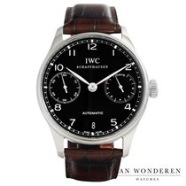 IWC Portuguese Automatic Staal 42mm Zwart Nederland, Purmerend
