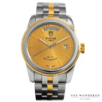Tudor Glamour Date-Day Stahl 39mm Gold