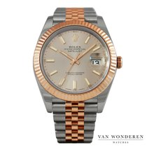 Rolex Or rose Remontage automatique Rose 41mm occasion Datejust II