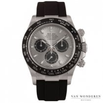 Rolex Daytona White gold 40mm Silver