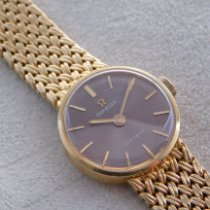 Omega Yellow gold Manual winding Gold 24mm pre-owned Genève
