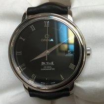 Omega De Ville Prestige Acier 36,5mm Noir Romains France, Marcq en Baroeul