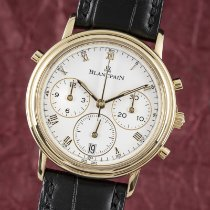 Blancpain Villeret Very good Yellow gold 34mm Automatic