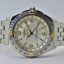 Breitling Antares Gold/Steel 38mm White Arabic numerals