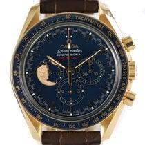 Omega 311.63.42.30.03.001 Желтое золото Speedmaster Professional Moonwatch 42mm подержанные