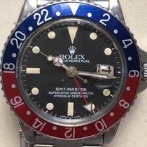 Rolex GMT-Master Сталь 40mm Черный Без цифр