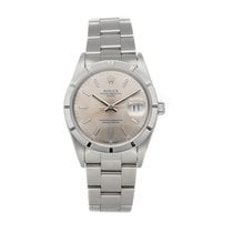 Rolex Oyster Perpetual Date Steel 34mm Silver No numerals United States of America, Pennsylvania, Bala Cynwyd