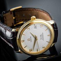 Omega De Ville Prestige Or jaune 34mm Blanc Arabes