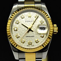 Rolex Lady-Datejust usados 26mm Gris Fecha Acero y oro