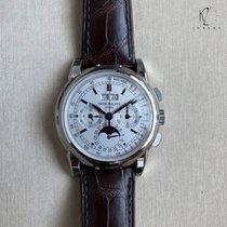 Patek Philippe 5970G-001 White gold 2008 Perpetual Calendar Chronograph 40mm new