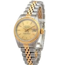 Rolex Lady-Datejust Gold/Steel 26mm Champagne No numerals United Kingdom, London