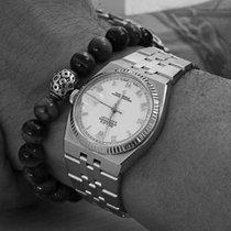 Rolex Datejust Oysterquartz Aur/Otel 36mm Alb Fara cifre