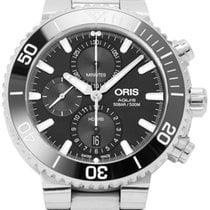 Oris Aquis Chronograph Steel 45.5mm